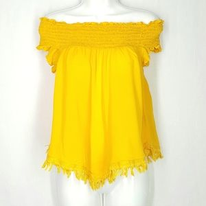 Express blouse, size medium, off shoulders top.